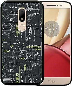 WoowCase Funda para Motorola Moto M, [Motorola Moto M ] Silicona Gel Flexible Fórmulas Matematicas Verde, Carcasa Case TPU Silicona: Amazon.es: Electrónica