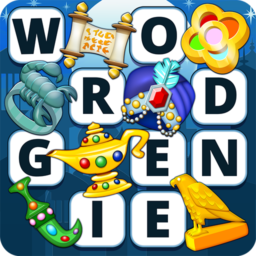 Word Genie - Puzzles & Gems (Word Notes)