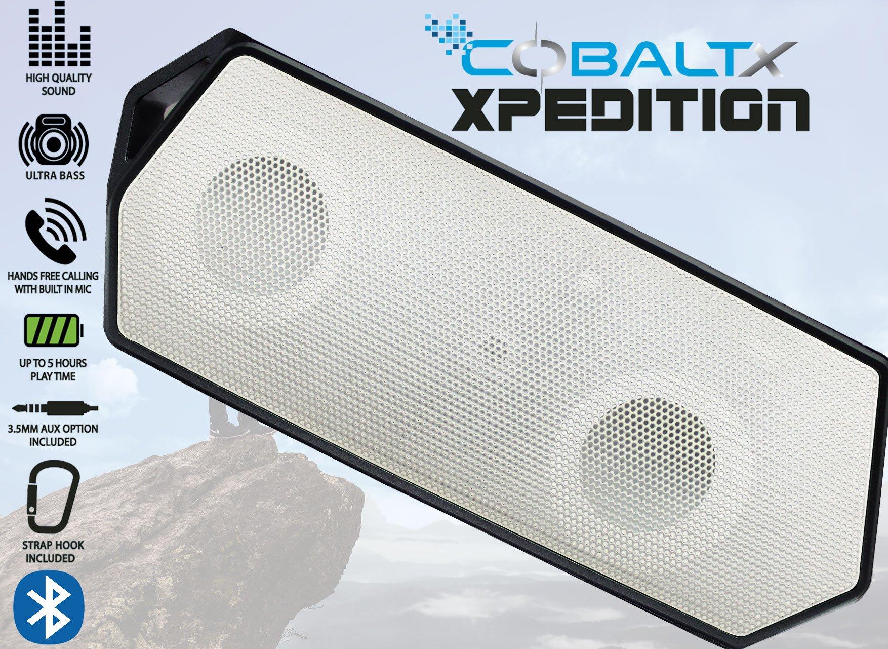 Parlante Bluetooth COBALTX Xpedition Rugged Portable  (3R2V)