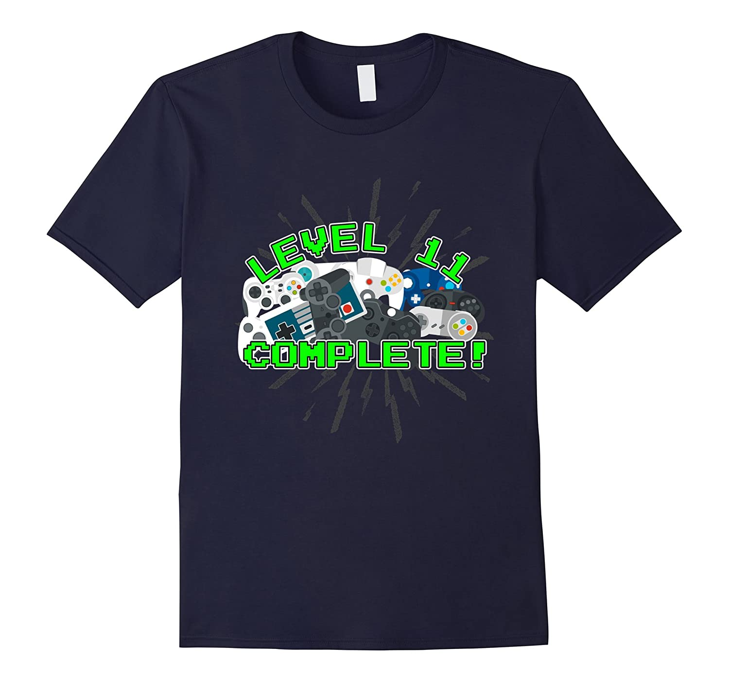 11th Birthday Party 11 Anniversary Tee Shirts Vintage Games-PL