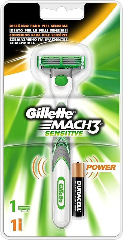 Gillette Mach 3 Power Maquinilla para hombre (maquinilla de ...