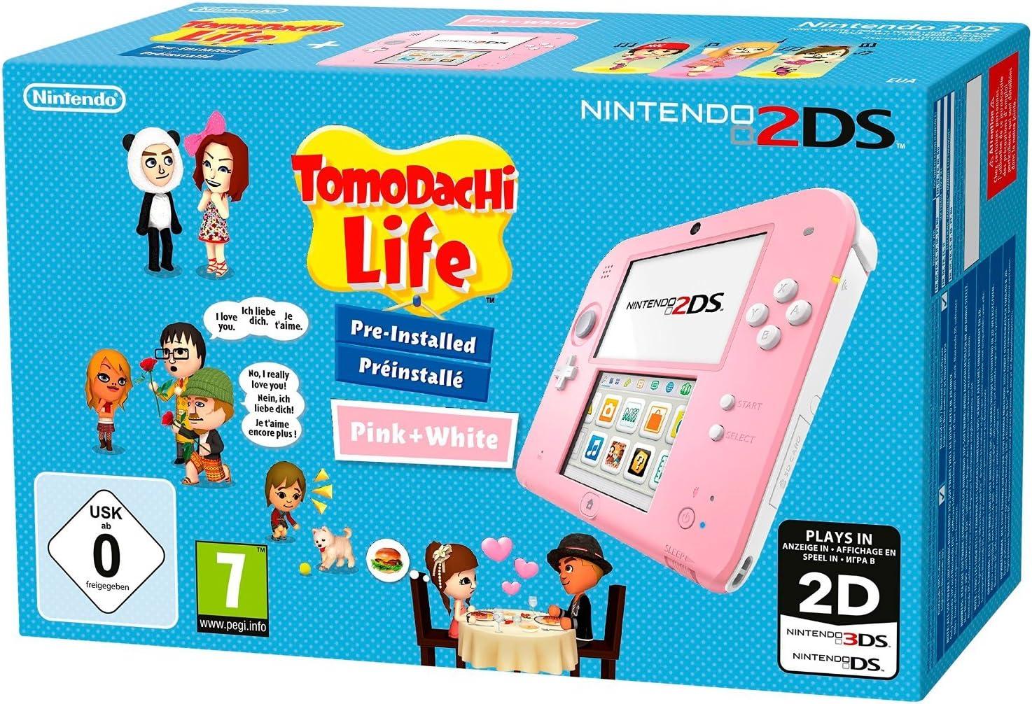 Nintendo 2Ds: Console Rosa/Bianco + Tomodachi Life [Bundle ...