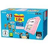 Nintendo 2DS Console Rosa/Bianco + Tomodachi Life [Bundle]