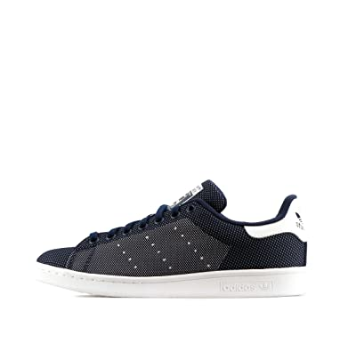 adidas Originals Stan Smith Weave Mens Running Trainers Sneakers (US 7.5, navy white AF4380
