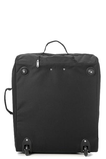 Easyjet e British Airways 56x45x25cm bagaglio a Mano massima approvato Trolley, 60L Capacità, (2X Negro)