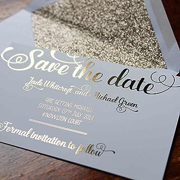 Save The Date Hochzeitskarten Von Made By Mika Personalisierbar