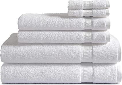 New White 100/% cotton Face Cloths 24 48 Towels 500GSM Pack of  12 Flannel