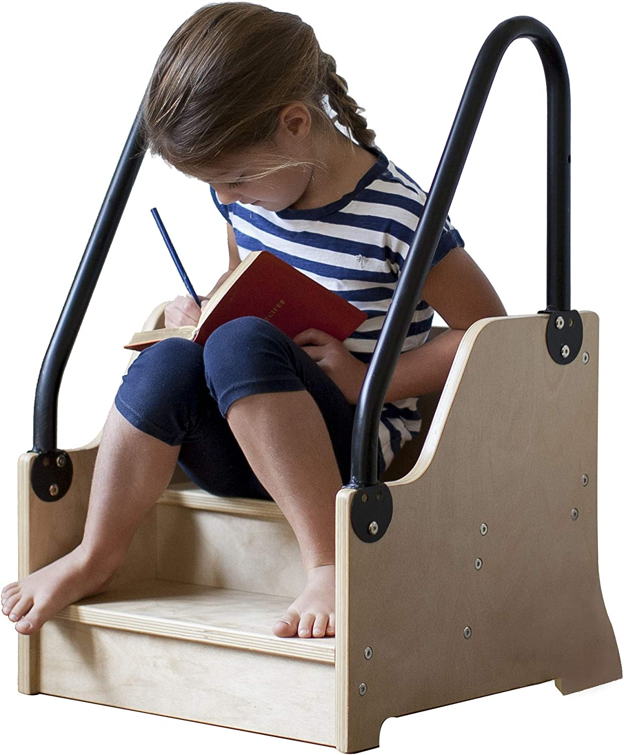 Little Partners Reach Up Natural Step Stool