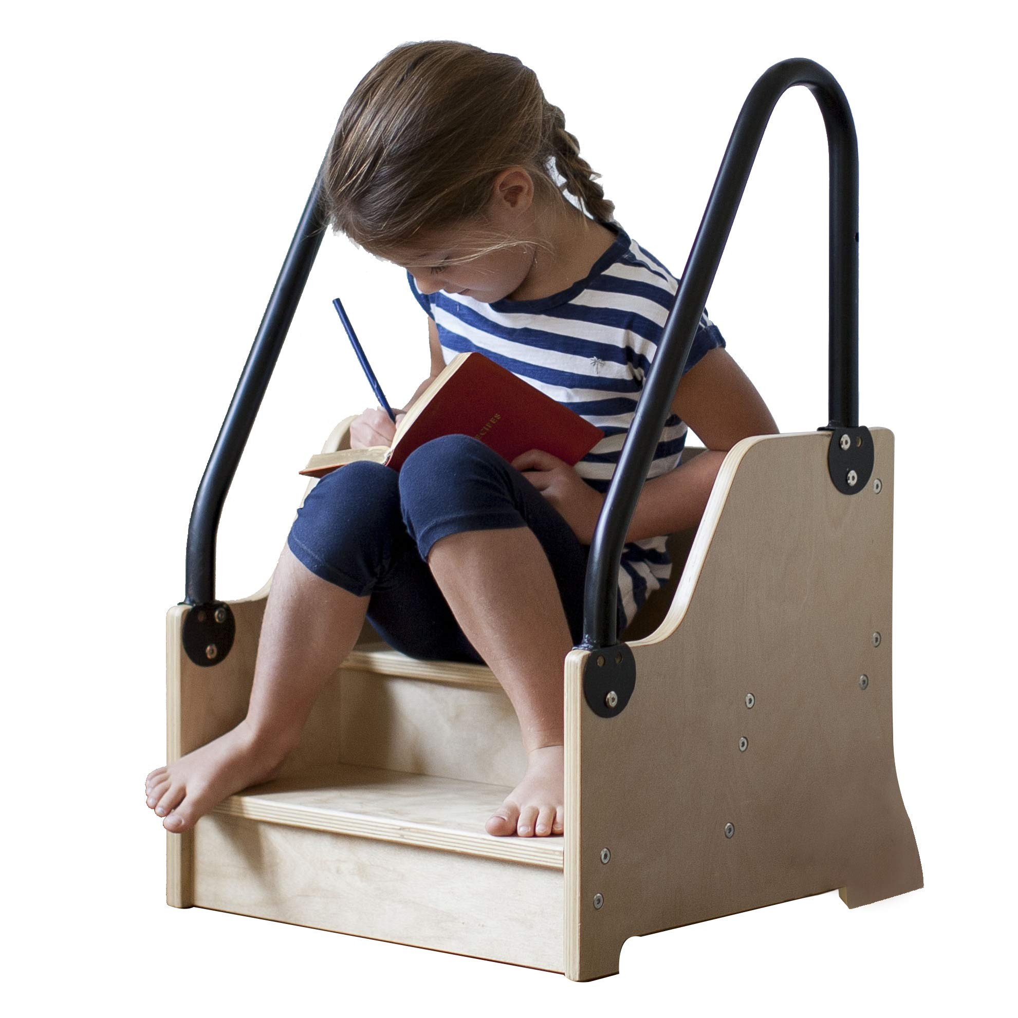 Little Partners Reach Up! Step Stool, Natural by Little Partners