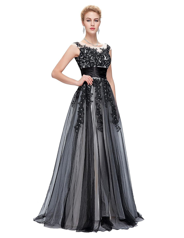 GRACE KARIN Damen Abendkleider Ballkleider Lange Partykleider Prom ...