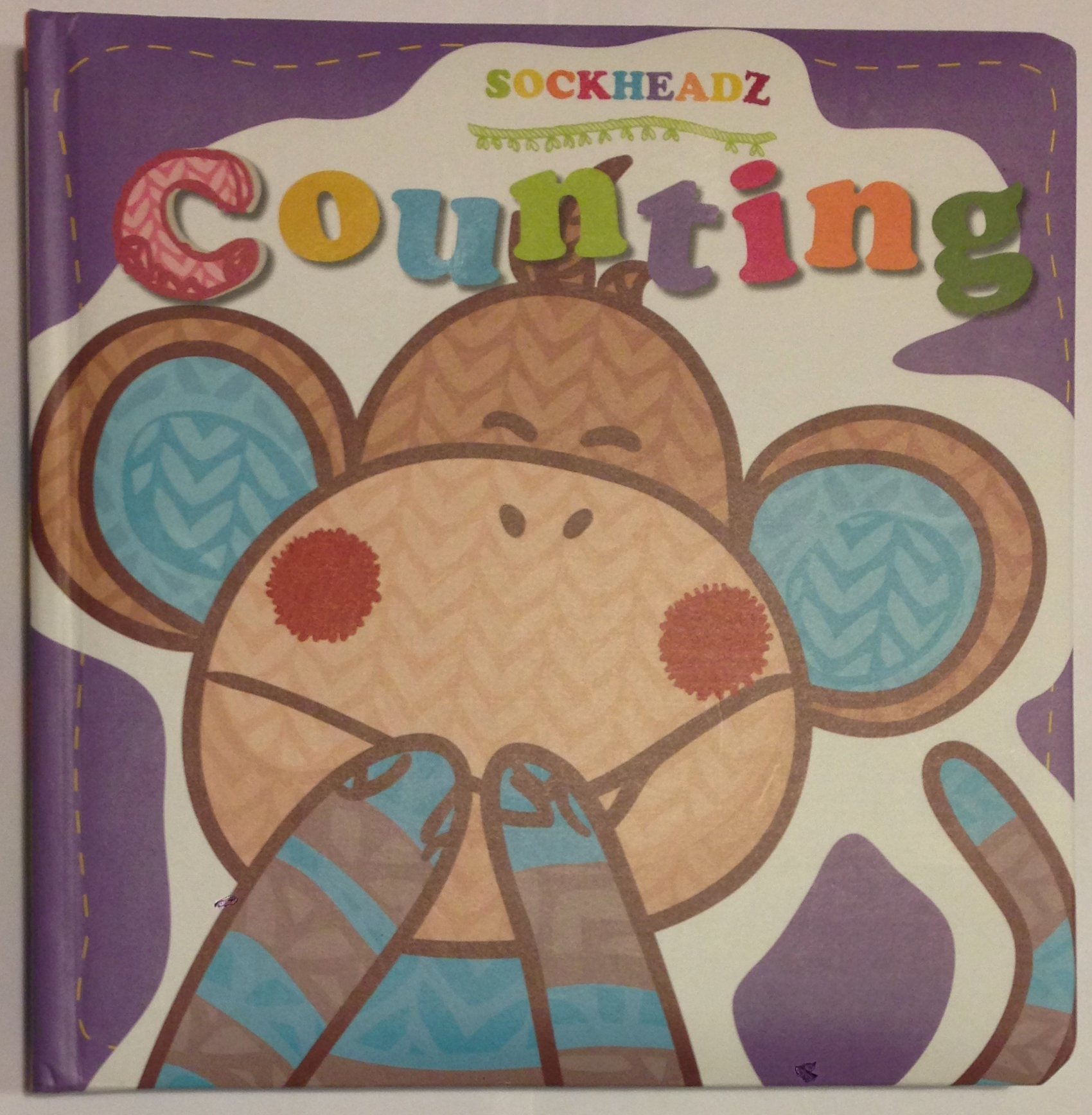 SOCKHEADZ : COUNTING Learning to Count Board Book PDF