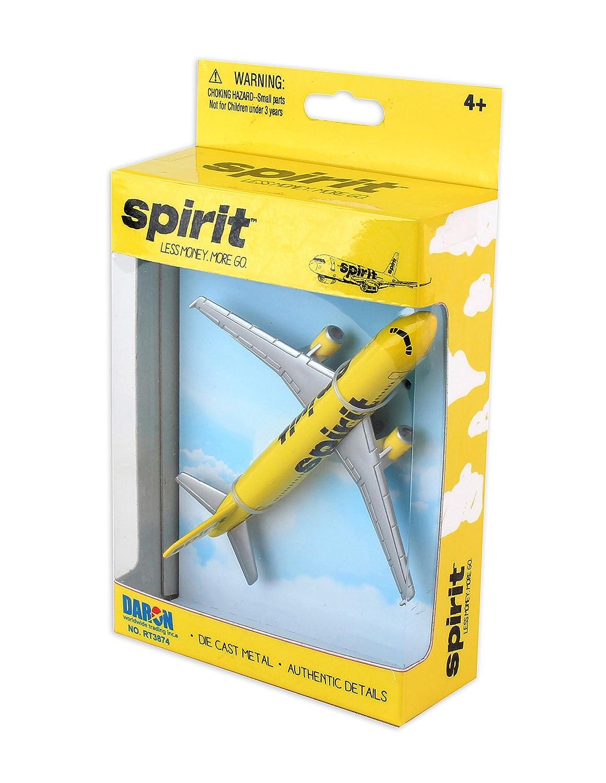 Daron Spirit Airlines Single Die Cast Plane