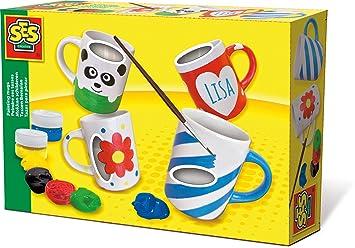 Ses Creative 00349 Tassen Bemalen Amazon De Spielzeug