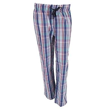textura clara marca popular Nueva York Pantalones de Pijama de Cuadros Escoceses para Mujer (44 ...