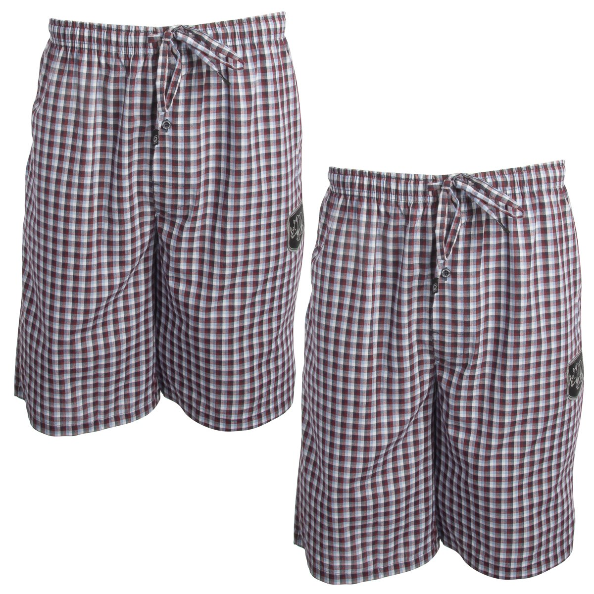Ecko Unltd........ (2 Pack Cool Cotton Pajama Shorts for Men Sleep Shorts Loungewear Sleepwear Home Travel
