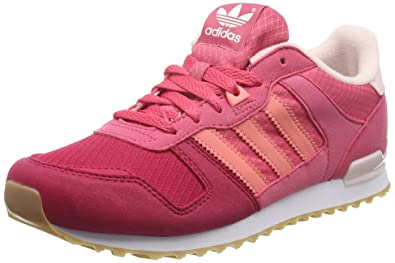 ad605f2c32c57 adidas Girls   Zx 700 J Low-Top Sneakers Pink (Crapnk Raypnk