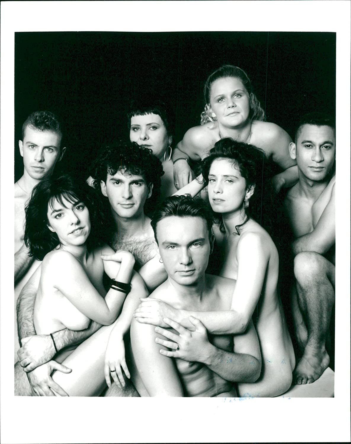 Amazon.com: Vintage photo of group of naked people.: Entertainment  Collectibles
