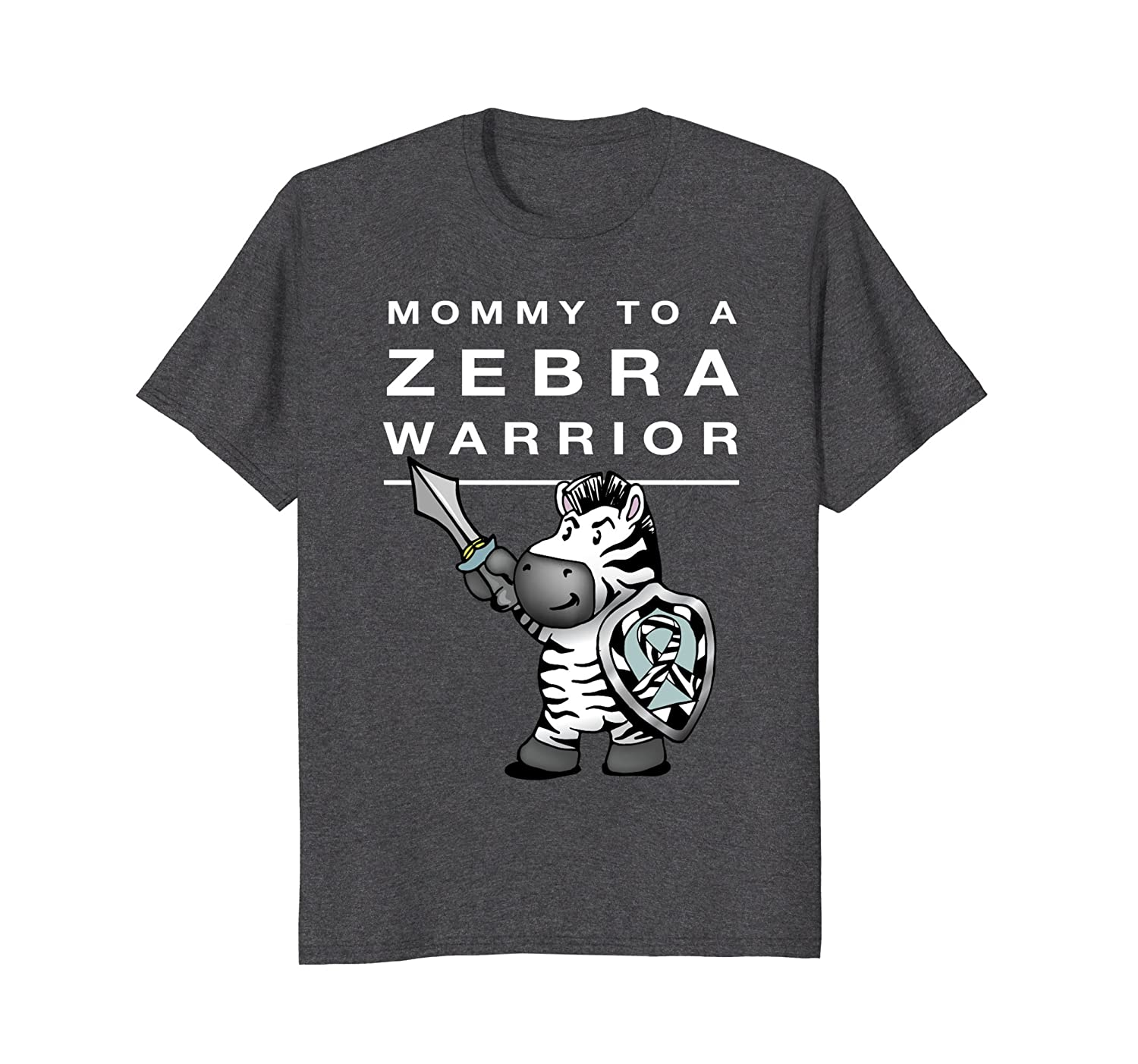 Mommy Zebra Warrior Shirt for Ehlers Danlos Syndrome-AZP