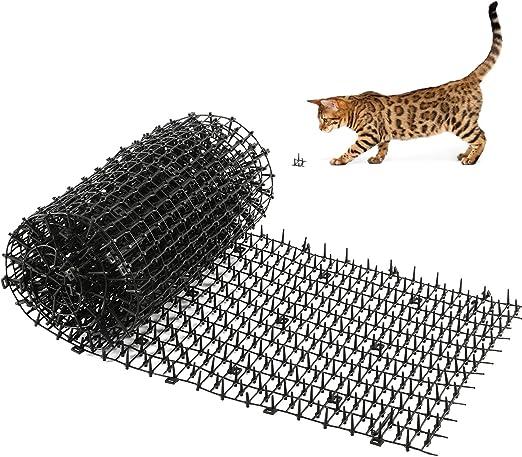 Kohree Estera de Anti Gato, 200x30cm Esterilla para disuadir a los Gatos y al Aire Libre para jardín, Valla, Repelente de Perros Zorro, Conejo Rata Aves Ardillas: Amazon.es: Jardín