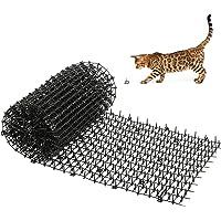 Kohree Estera de Anti Gato, 200x30cm Esterilla para disuadir a los Gatos y al Aire Libre para jardín, Valla, Repelente…