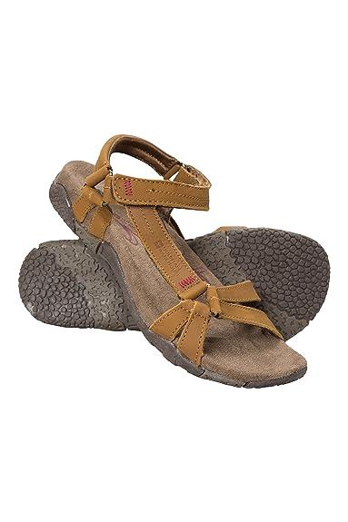 743b79bdd2a Mountain Warehouse Kokomo Womens Casual Sandals - Nubuck Leather Upper  Ladies Shoes