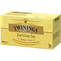 Twinings - Té Earl Grey, 25 bolsitos