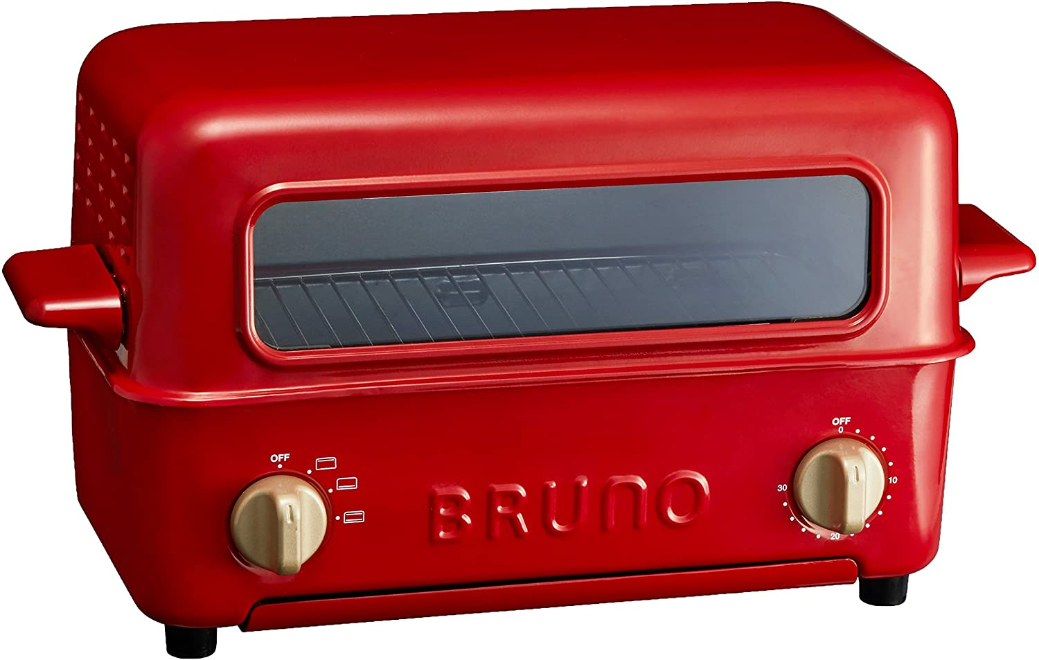 BRUNO Toaster Grill BOE033-RD (Red)【Japan Domestic genuine products】