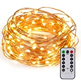 Amazon Price History for:Kohree 60LEDs Fairy String Lights with Remote Control, AA Battery Powered on 20ft/6M Long Ultra Thin String Copper Wire,Seasonal Decor Rope Lights For Christmas, Wedding,Parties With Battery Box
