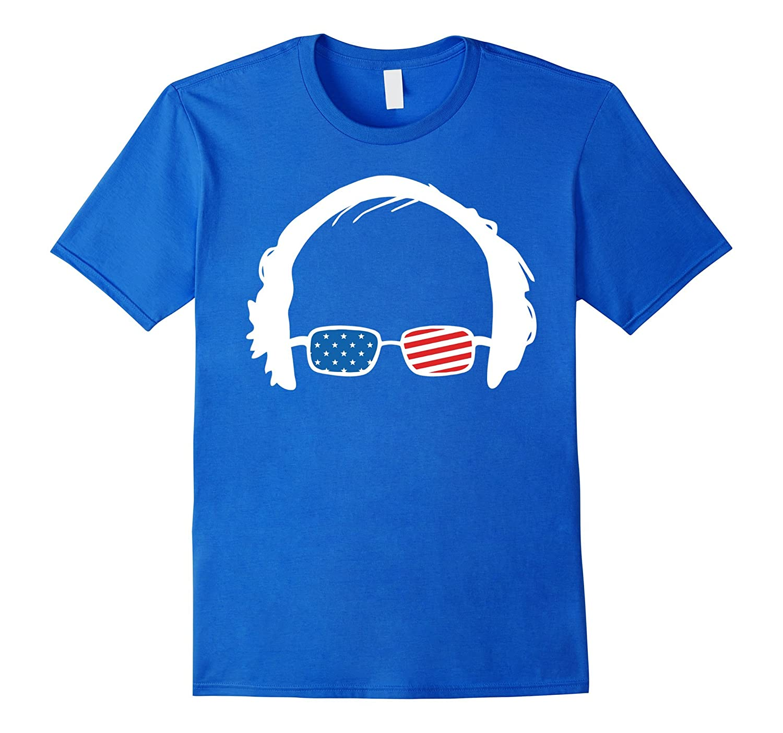 Bernie Sanders T-Shirt Feel The Bern 2016 wtih US Flag-TH