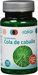 Sakai – Cola de caballo en comprimidos (diurético natural, remineralizador, fuente natural de