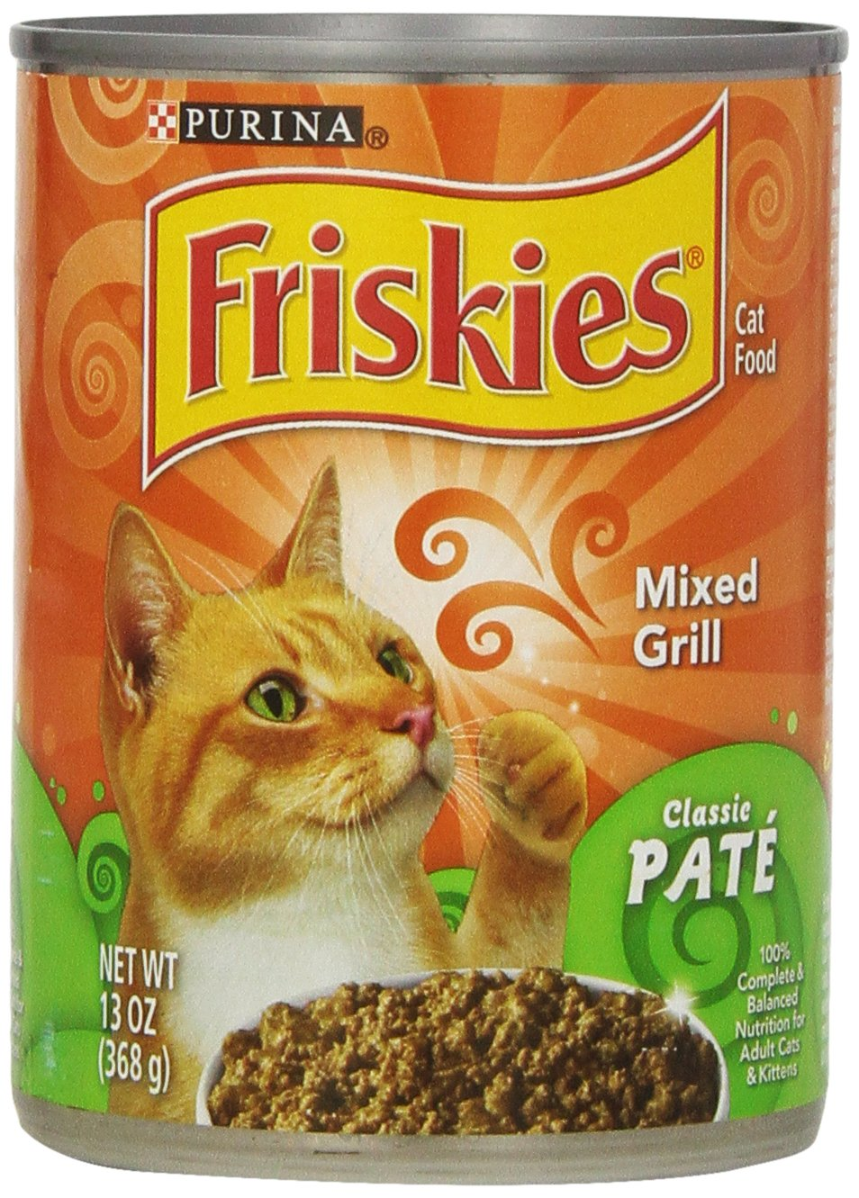 Fiskies Wet Cat Food Classic Pate