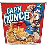 Cap'N Crunch Breakfast Cereal, Original, 1.51oz Individual Cups (12 Pack)