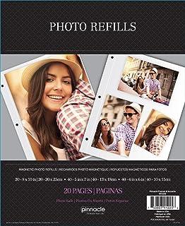 Pinnacle Frames and Accents Magnético álbum de Fotos Hojas de Recambio, 10PK RF2258