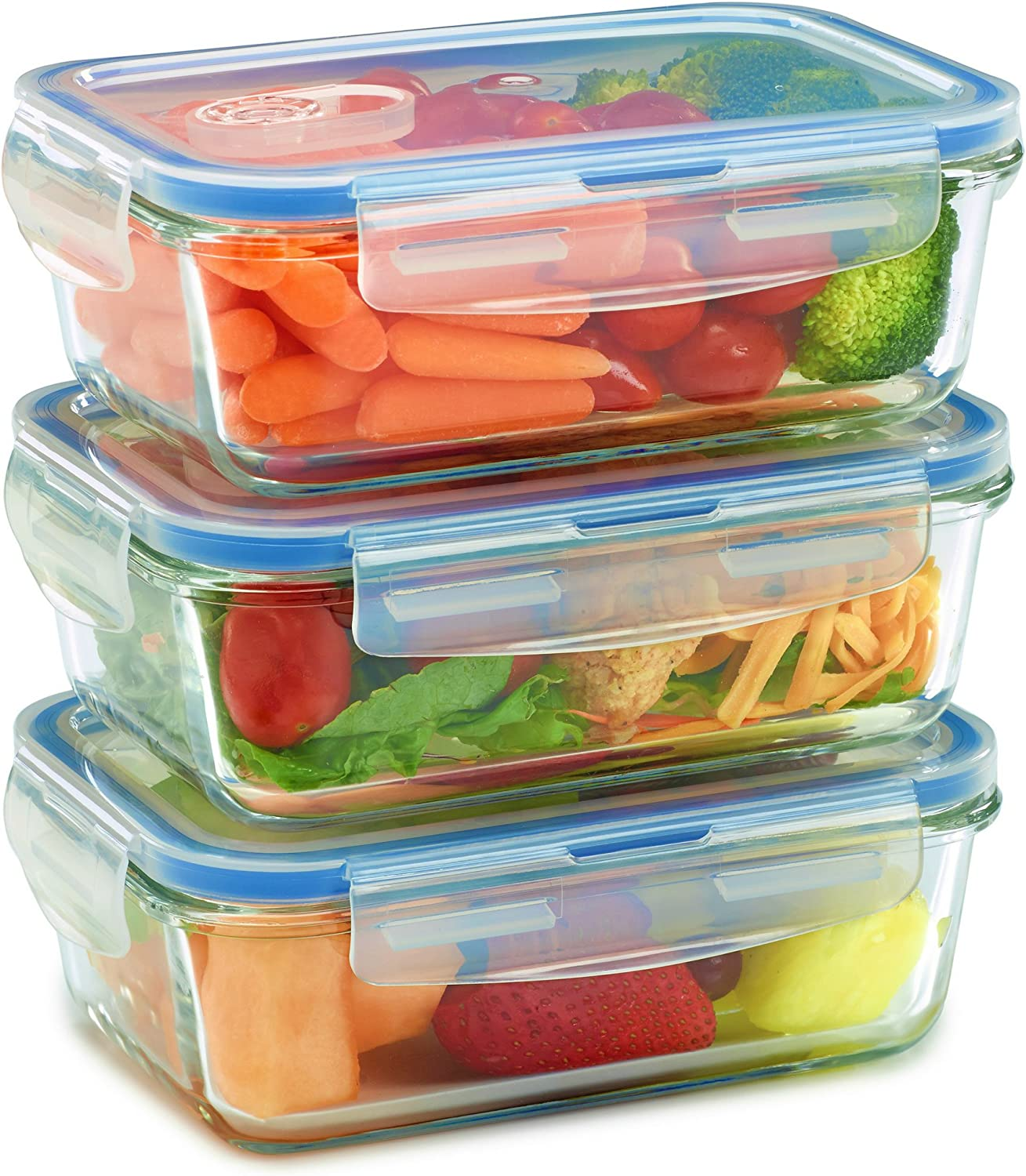 Glass Meal Prep Containers - Microwave safe
