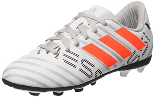 adidas Nemeziz Messi 17.4 FxG J, Zapatillas de Fútbol para Niñas, (FTWR White/Solar Orange/Clear Grey), 35.5 EU: Amazon.es: Zapatos y complementos