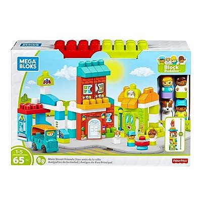 Mega Bloks Block Buddies Main Street Friends Playset: Toys & Games