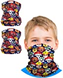 Nickelodeon Boys Paw Patrol Gaiter Face Mask with UV Sun Protection (2 Pack)