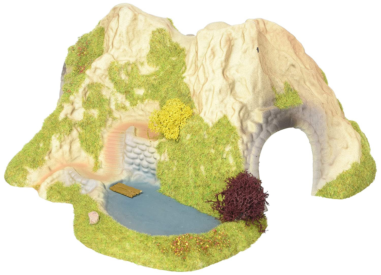 Noch 34660 25 x 25 cm Curved Tunnel Single Track Landscape Modelling