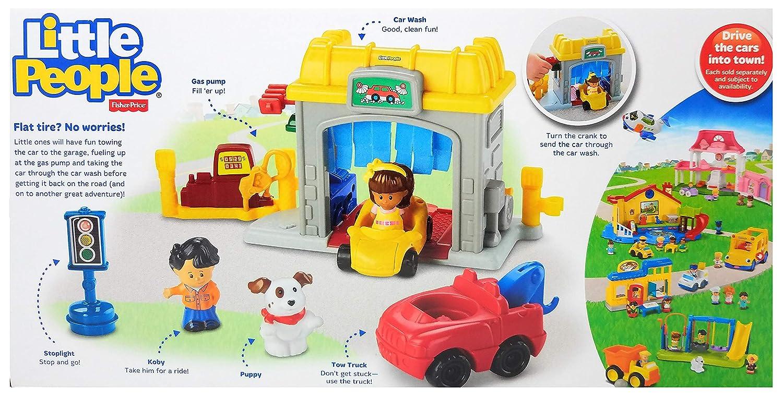 Fisher-Price Little People Mini Garage