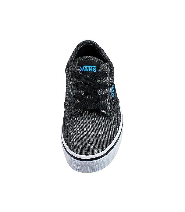 2751e37d4b Vans Kids Atwood (Canvas) Skate Shoes Black Hawaii Textile Size 10.5   Amazon.ca  Shoes   Handbags