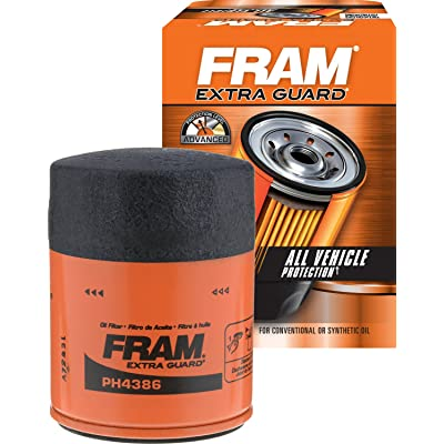 FRAM PH4386 Extra Guard Passenger Car Spin-On Oil Filter: Automotive