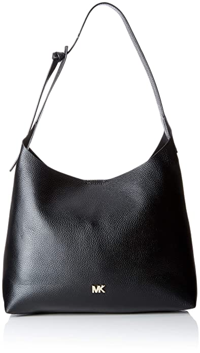 68fee843491a Michael Kors Womens Junie Shoulder Bag Black (Black)  Amazon.co.uk ...