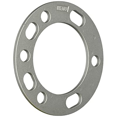 "White Knight 603-2 Aluminum Alloy 5&6 x 5.5"" Wheel Spacer, (Pack of 2): Automotive"