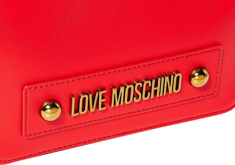 Love Moschino Jc4028pp1a, Borsa a Zainetto Donna, 9x12x23 cm (W x H x L) Rosso (Rosso)