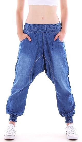 sells cheap low cost Pantalon baggy Aladin pour femme, jeans, taille basse, coupe Boyfriend
