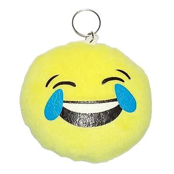 Smiley Pleure Rire Porte Clé Peluche Sac Cameleon Shop Amazon Fr