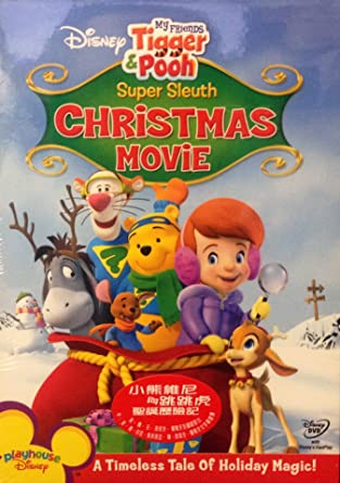Amazon my friends tigger pooh super sleuth christmas movie my friends tigger pooh super sleuth christmas movieimported from hong kong altavistaventures Gallery