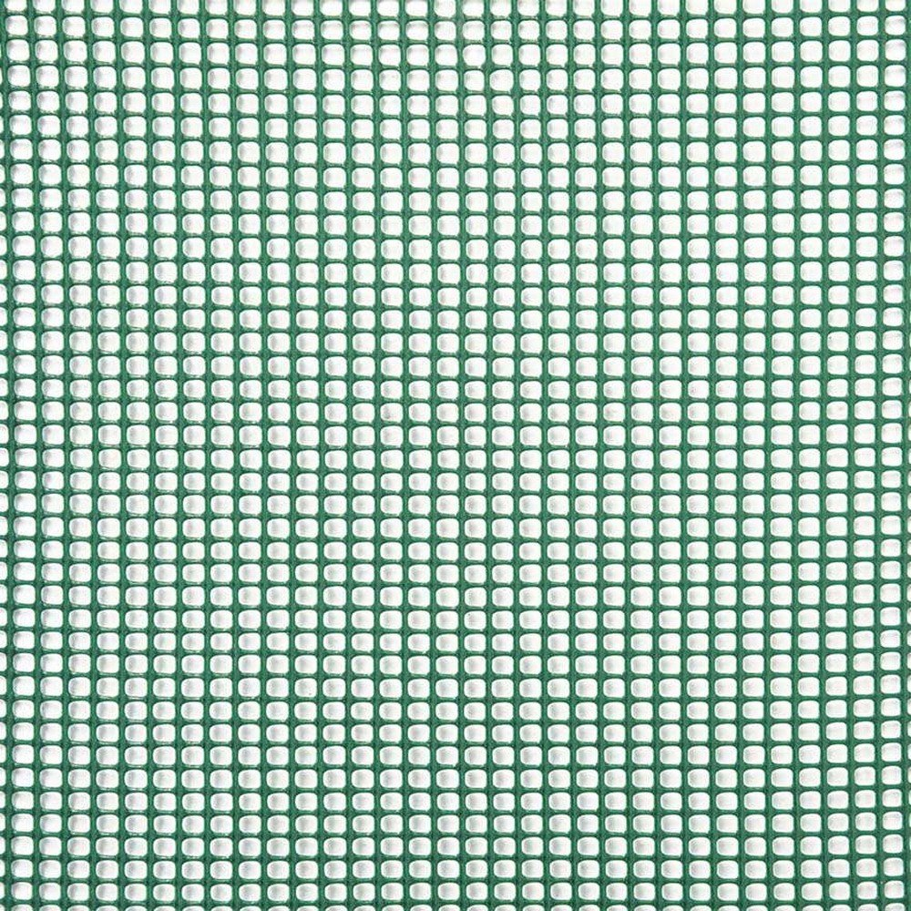 Verdemax 7772 1 x 5 m 5 mm Square Net Miniroll Mesh - Green