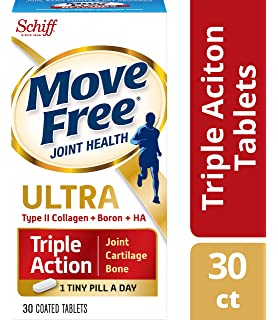 Type II Collagen, Boron & HA Ultra Triple Action Tablets, Move Free (30