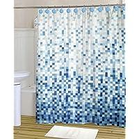 Art & Home Cortina para baño 100% Poliéster HB-5772, 180 x 180 cm